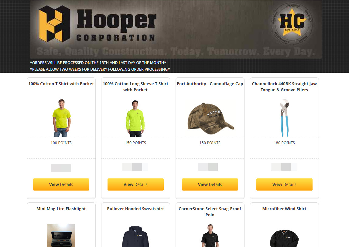 hooper-corporation-safety-program-store